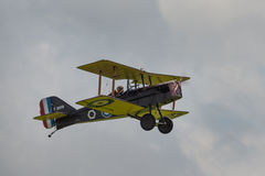 RAF SE5a vintage fighter aircraft royalty free stock photos