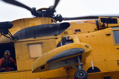 RAF Sea King Helicopter Royalty Free Stock Photography