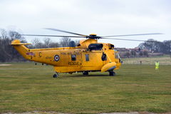 RAF Sea King Helicopter Stock Photos