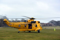 RAF Sea King Helicopter Stock Photography