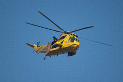 RAF Sea King rescue helicopter Stock Photos