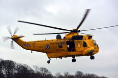RAF Sea-koning Helicopter stock foto's