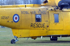 RAF Sea-koning Helicopter Stock Afbeelding