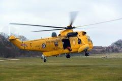 RAF Sea konung Helicopter Arkivfoto