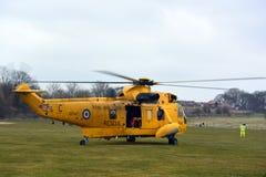 RAF Sea konung Helicopter Arkivbild