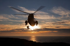 RAF Seaking fotografia royalty free