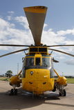RAF Seaking Helicopter Royalty Free Stock Image