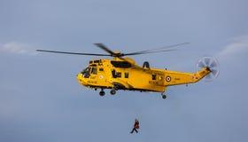 RAF Search et délivrance V2 Images libres de droits
