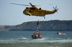 RAF Search och räddningsaktion Seaking Royaltyfria Foton