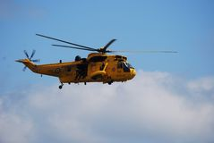 RAF Search and Rescue Seaking Royalty Free Stock Images