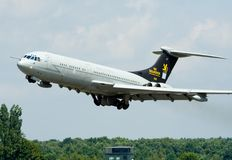 RAF tanker aircraft  Royalty Free Stock Images