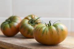 Raf tomatoes, salad greens Royalty Free Stock Photos