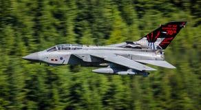 RAF Tornado jaktflygplan Arkivfoto