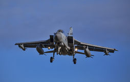 RAF Tornado Jet about to land. Royalty Free Stock Image
