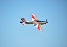 RAF Tucano in 2011 Bildschirmanzeige-Farben Lizenzfreie Stockfotos