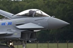 RAF Typhoon Royaltyfria Bilder