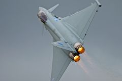 RAF Typhoon Stock Foto's