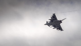 RAF Typhoon fighter Stock Images