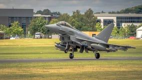 RAF Typhoon fighter Stock Image