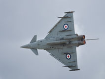 RAF Typhoon jet fighter Stock Photography