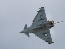 RAF Typhoon jet fighter Royalty Free Stock Photo