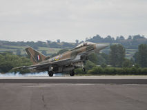 RAF Typhoon jet fighter Royalty Free Stock Photos