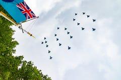 RAF una celebrazione di 100 anni Immagini Stock