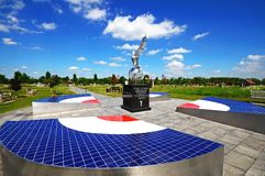 RAF war memorial, Alrewas. Stock Photography