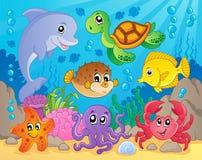 Rafa koralowa tematu wizerunek 5 Fotografia Stock