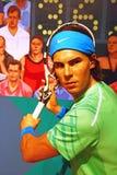 Rafa Nadal in Madame Tussauds von London Lizenzfreie Stockfotos