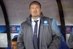Rafael Benítez, head coach of SSC Napoli Royalty Free Stock Photography