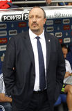 Rafael Benitez manager of Real Madrid stock photos