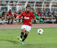 Rafael Da Silva of Man Utd. Stock Images