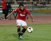 Rafael Da Silva of Man Utd. Royalty Free Stock Images