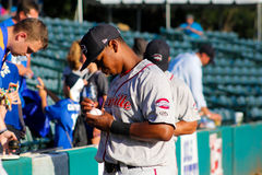 Rafael Devers, Greenville Drive Royalty Free Stock Images