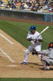 Rafael Furcal. Los Angeles Dodgers' infielder Rafael Furcal in action Royalty Free Stock Photos