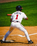 Rafael Furcal, Atlanta Braves shortstop. Stock Image