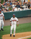 Rafael Furcal, Atlanta Braves shortstop. Atlanta Braves infielder Rafael Furcal. (Image taken from color negative Royalty Free Stock Photo