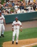 Rafael Furcal, Atlanta Braves shortstop. Royalty Free Stock Photo