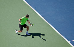 Rafael Nadal during the 2010 US Open Stock Photos