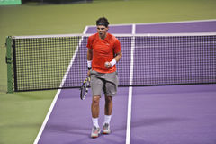 Rafael Nadal at the ATP Tennis Stock Images