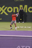 Rafael Nadal at the ATP Tennis royalty free stock images
