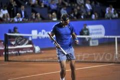 Rafael Nadal Barcelona Otwiera 2014 ATP 500 Obrazy Stock