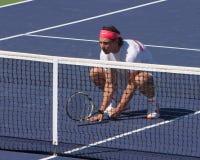 Rafael Nadal doubles ready Royalty Free Stock Photos