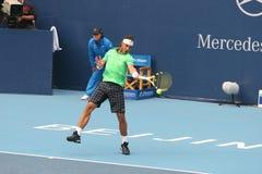 Rafael Nadal en el semifinal de la China abierta Fotos de archivo libres de regalías