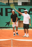 Rafael Nadal en Tony Nadal Royalty-vrije Stock Afbeeldingen