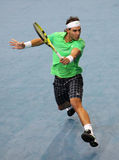 Rafael NADAL (ESP) at BNP Masters 2009 Stock Photography
