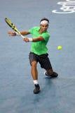 Rafael Nadal (ESP) no BNP domina 2009 Fotografia de Stock Royalty Free