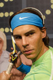 Rafael nadal. In the famous wax museum Madame tussauds london, england Stock Photos