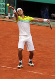 Rafael Nadal at Roland Garros 2009 Stock Photo